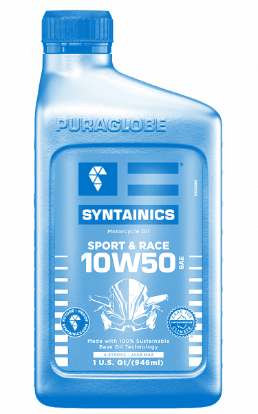 SPECIAL MBC EDITION: Sport & Race 10W50 SYNTAINICS Motorcycle-Oil