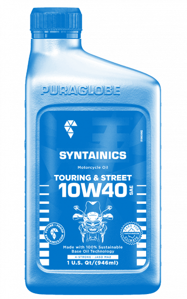 SPECIAL MBC EDITION: Touring Street 10W40 SYNTAINICS Motorcycle-Oil